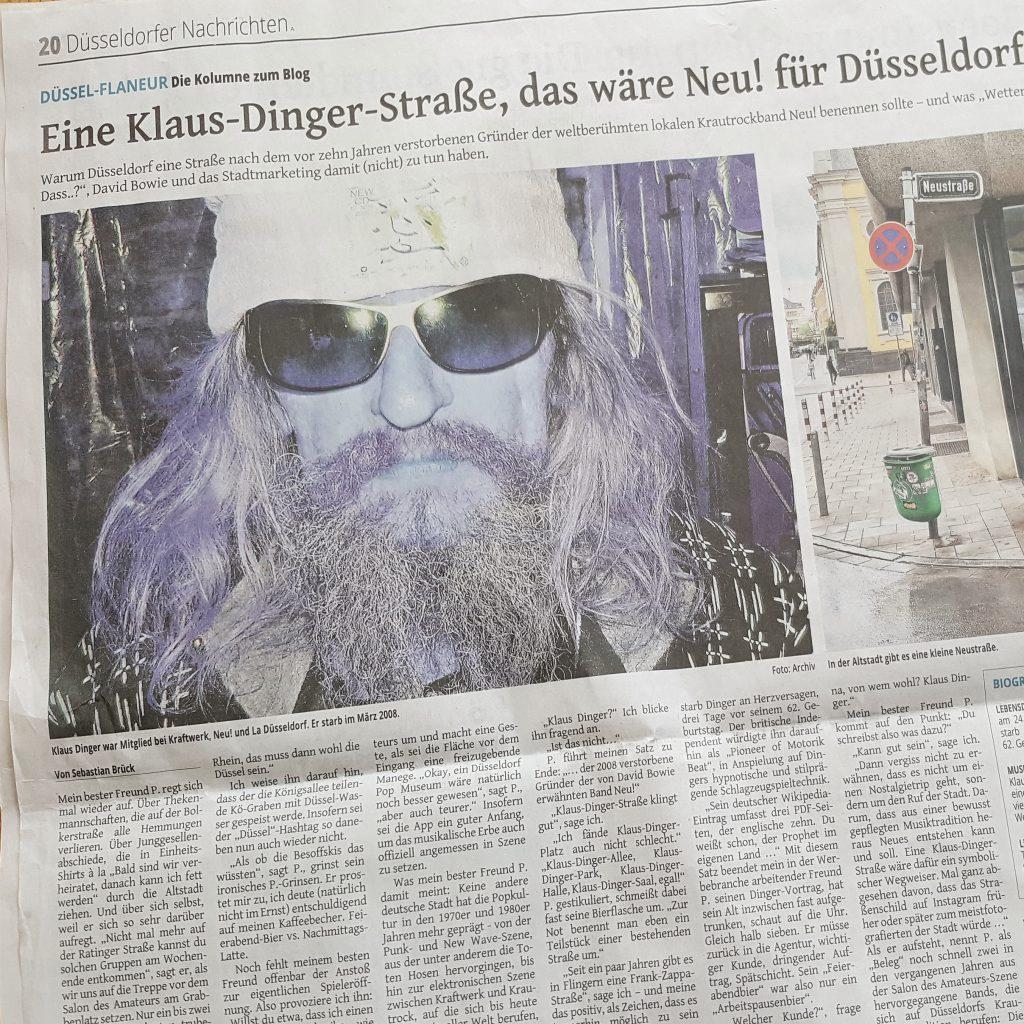 Klaus Dinger: der unbekannte Weltstar aus Düsseldorf