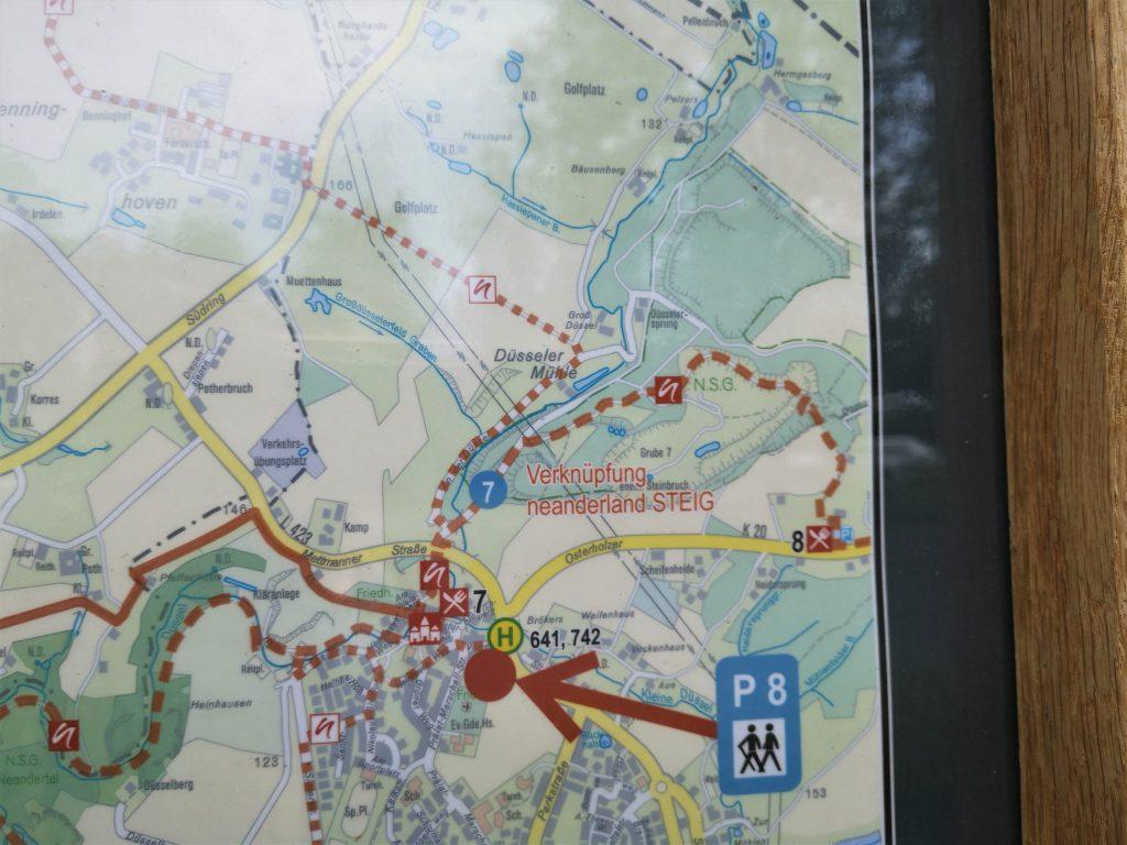 Wanderwege rund um Gruiten-Dorf