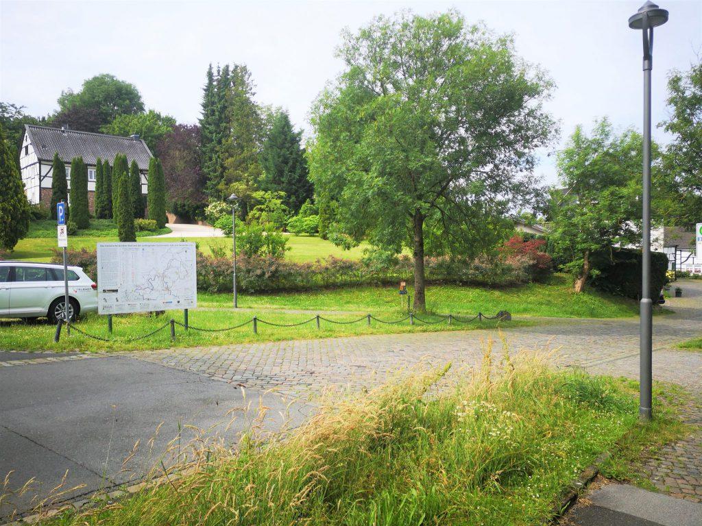 Karte Gruiten-Dorf