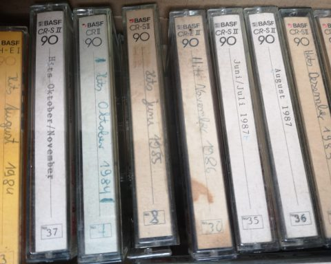 Mix-Kassetten aus den 1980ern