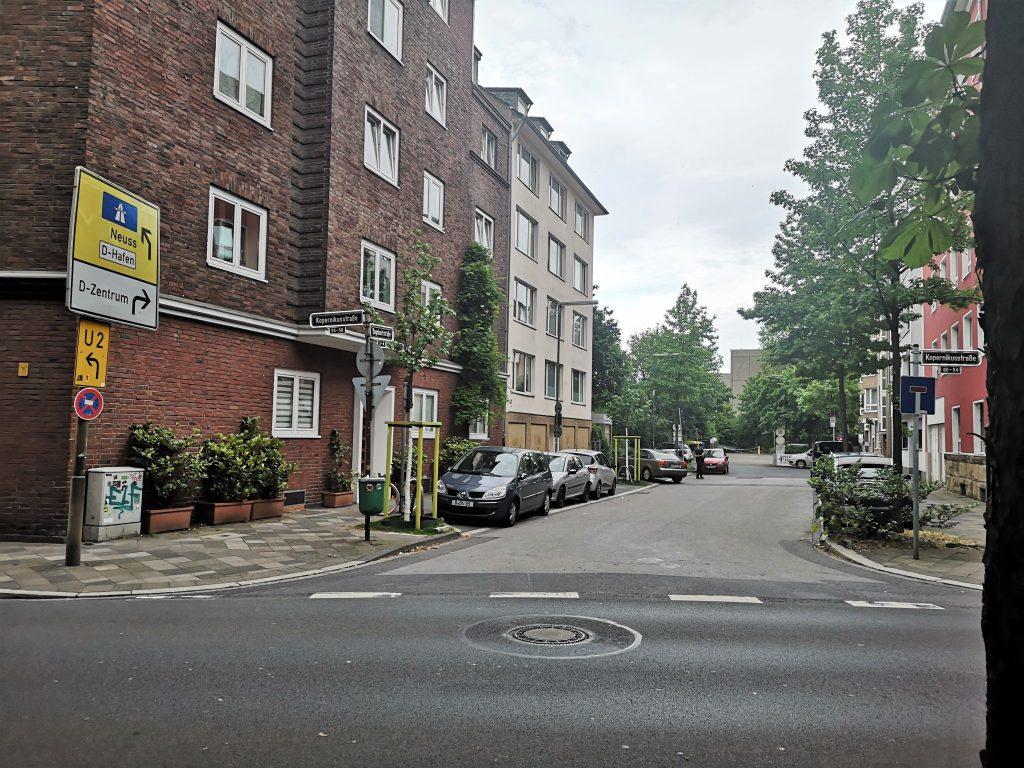 Dagobertstraße in Bilk