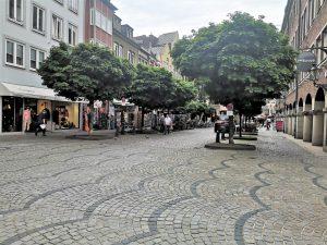 Marktstarße in der Düsseldorfer Altstadt