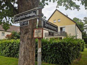 Düsseldorfs kürzeste Straße: der Speckmannweg