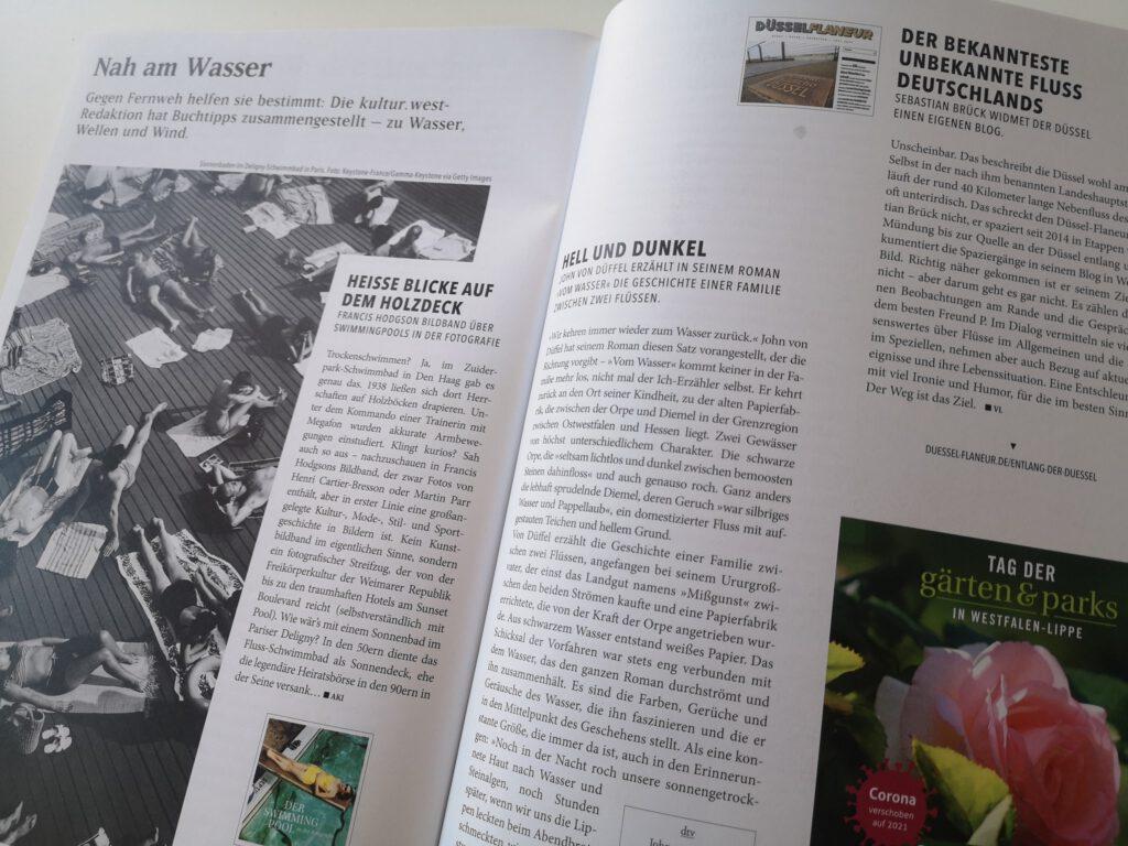 Düssel-Flaneur Literaturtipp Kultur.West