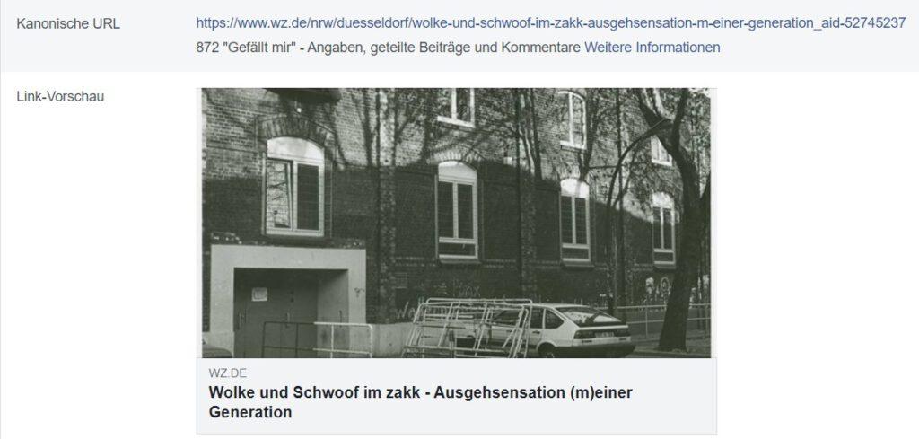 Schwoof im Zakk Düsseldorf