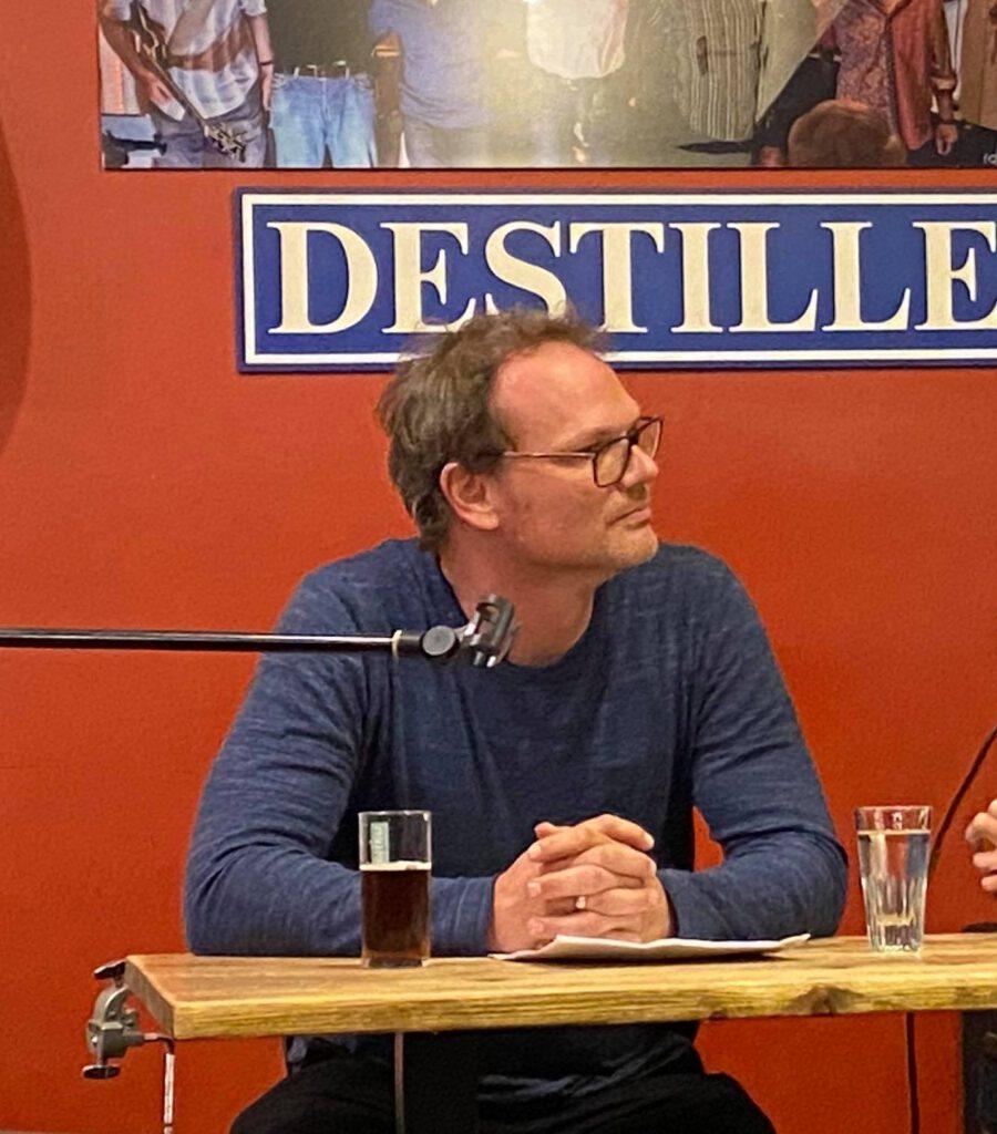 1. Nacht der Düsseldorfer Literatur Sebastian Brück