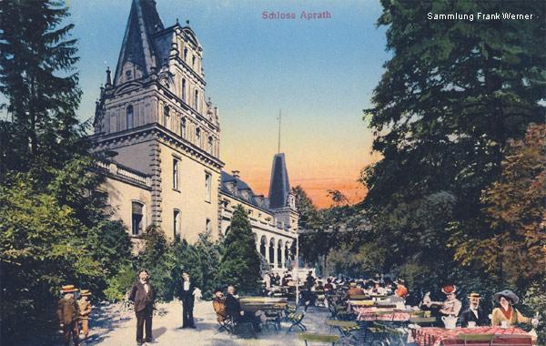 Schloss Aprath Gastronomie 1911