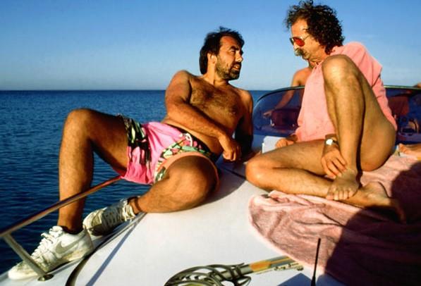 Gurlitt mit Jean Pütz auf Formentera